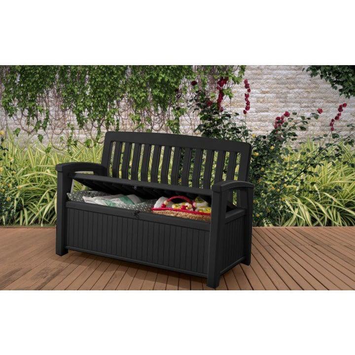 Patio Bench Box Keter 647233500000 Farbe Grau Bild Nr. 1