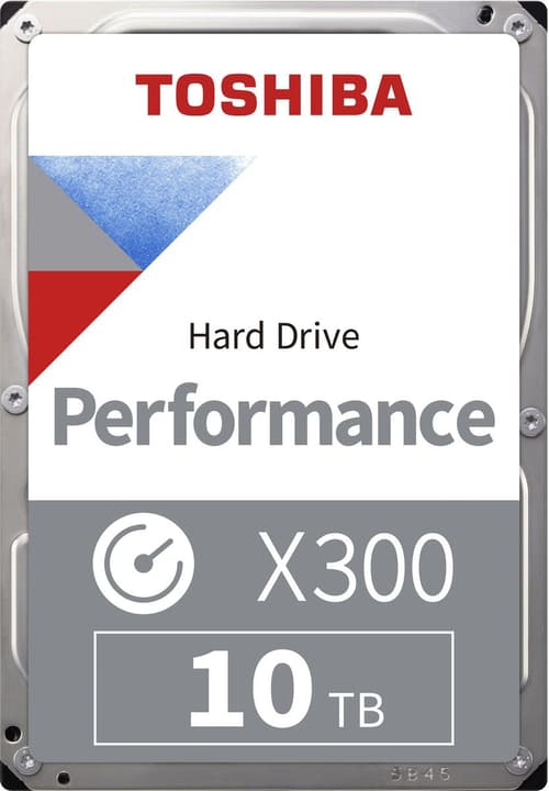 "X300 High Performance  10TB 3.5"" SATA HDD Intern Toshiba 785300137564 Bild Nr. 1"