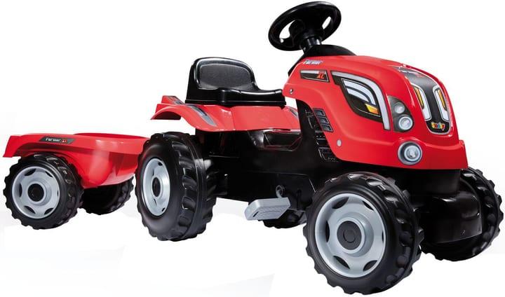 Trattore Farmer XL rosso + Remorchio 745519200000 N. figura 1