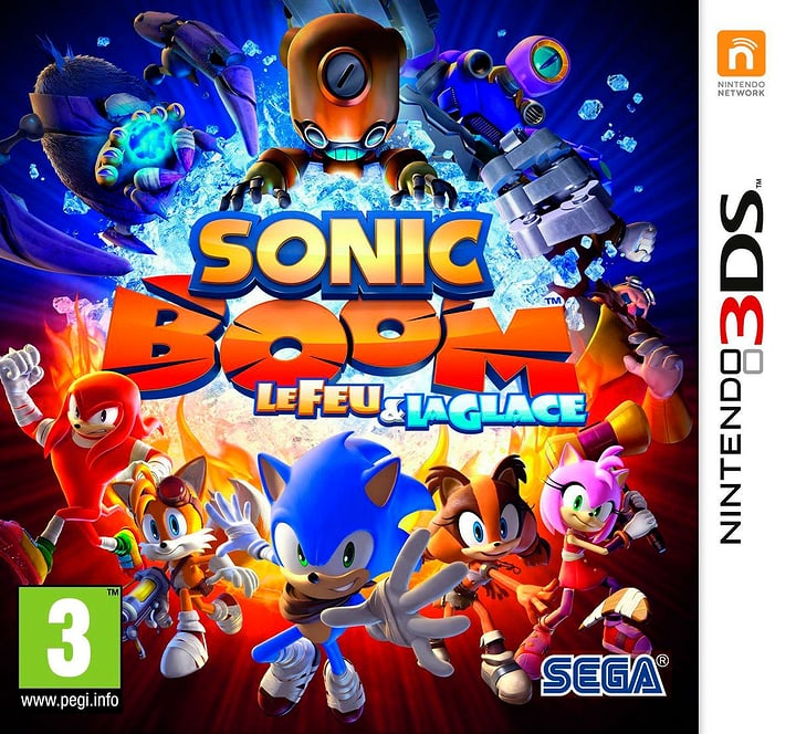 3DS - Sonic Boom: Feuer und Eis 785300121299 N. figura 1