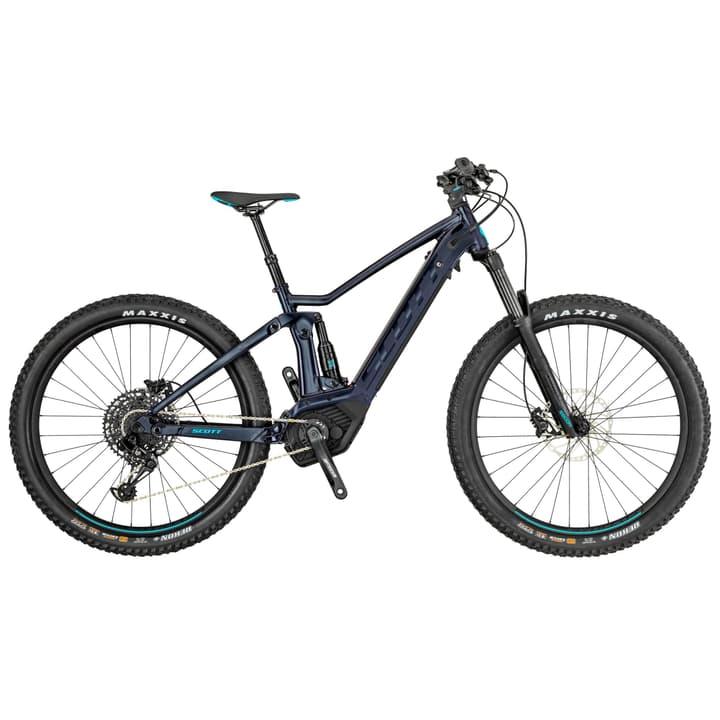 """Contessa Strike eRide 720 27.5"""" mountain bike elettrica Scott 463349600420 Dimensioni del telaio M Colore nero N. figura 1"""