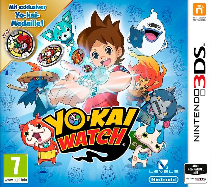 3DS - YOKAI WATCH (Special Editinkl. Medaille) 785300121381 Photo no. 1