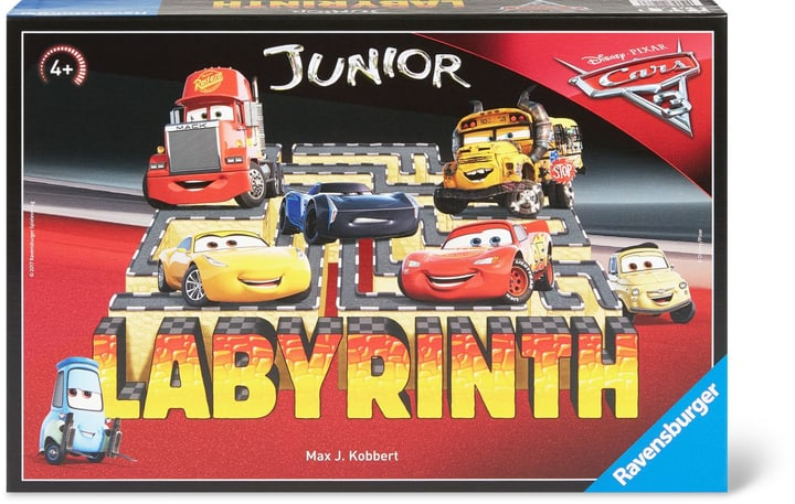 Cars 3 Junior Labyrinth 747426900000 Bild Nr. 1