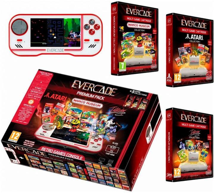 Evercade Premium Pack + Namco Cart 1, Atari Cart 1 & Interplay Cart 1 Konsole 785445400000 Bild Nr. 1