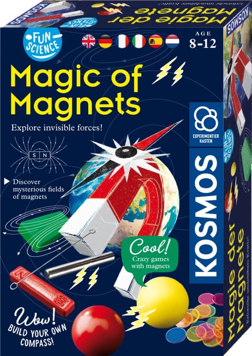 Science Magnets KOSMOS Fun Science 748968800000 Photo no. 1