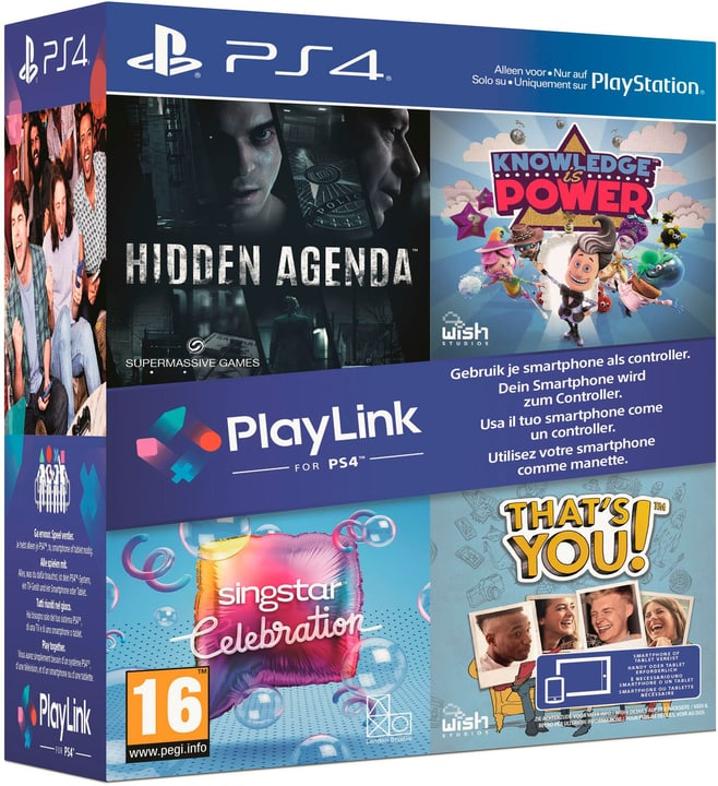 PS4 - PlayLink Bundle (D/F/I) Box 785300131252 Bild Nr. 1