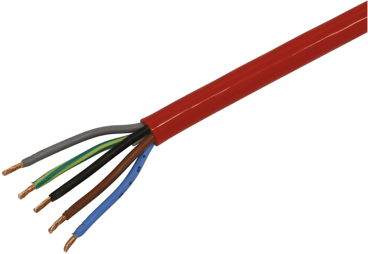 Câble de chantier 5x1.5  (N07V3V3-F) Mica for you 613136500000 Photo no. 1