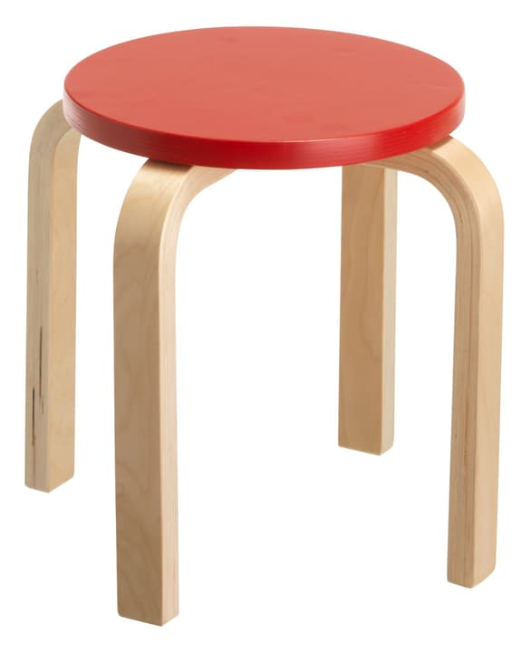 PIPO Tabouret pour enfant 404955701030 Couleur Rouge Dimensions H: 30.0 cm Photo no. 1