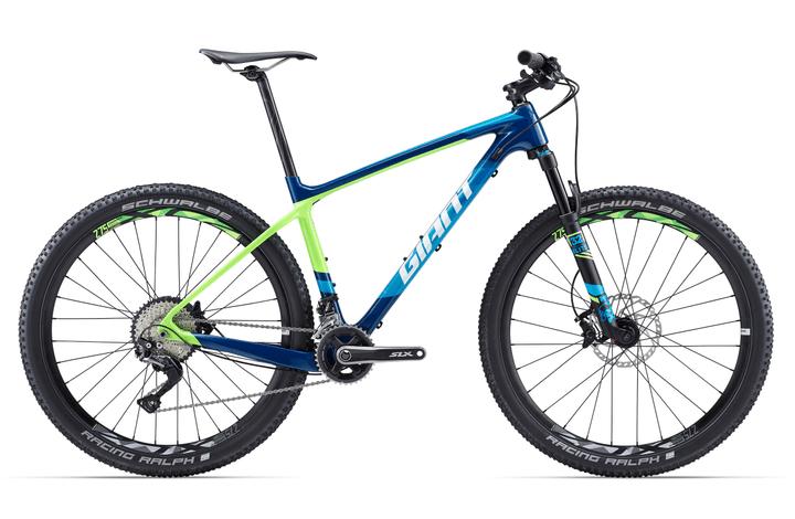 """XTC Advanced 2 27.5"""" VTT cross country Giant 463310600522 Couleur bleu foncé Tailles du cadre L Photo no. 1"""