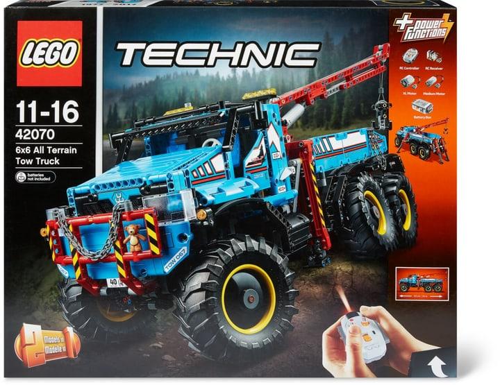 LEGO Technic Camion Autogrù 6x6 42070 744547900000 N. figura 1
