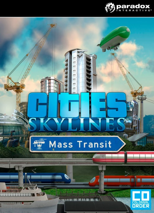 PC/Mac - Cities: Skylines - Mass Transit Download (ESD) 785300134117 N. figura 1