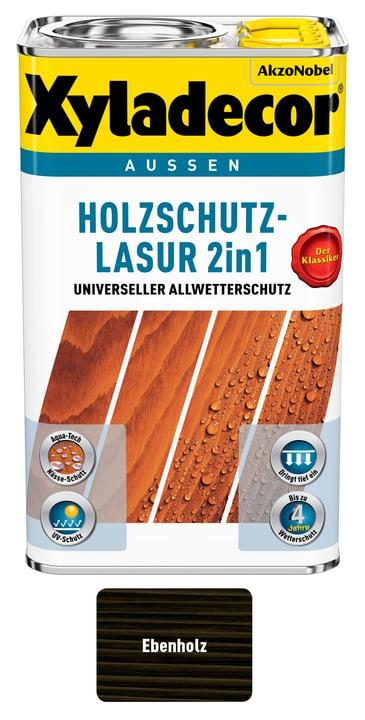 Holzschutzlasur Ebenholz 750 ml XYLADECOR 661779700000 Farbe Ebenholz Inhalt 750.0 ml Bild Nr. 1
