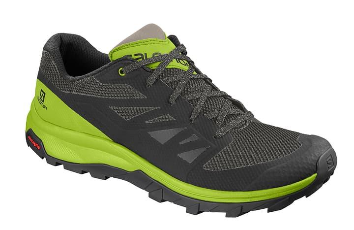 Outline Chaussures polyvalentes pour homme Salomon 462993044060 Couleur vert Taille 44 Photo no. 1