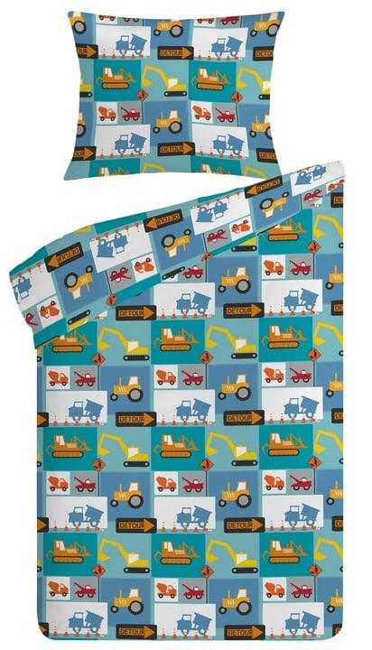ABELIO Guarnitura da letto 451184914440 Colore Blu Dimensioni L: 160.0 cm x P: 210.0 cm N. figura 1
