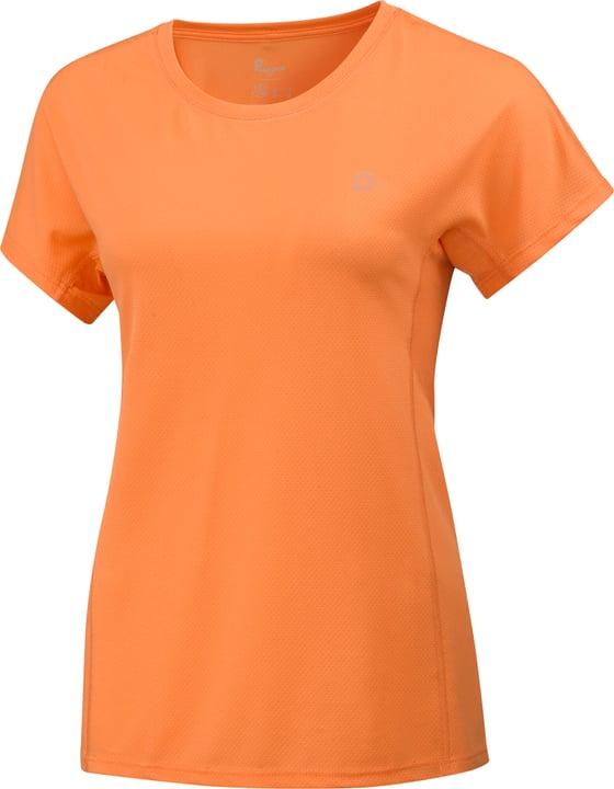 Running-T-Shirt Damen-T-Shirt Perform 470425204036 Farbe Hellorange Grösse 40 Bild-Nr. 1