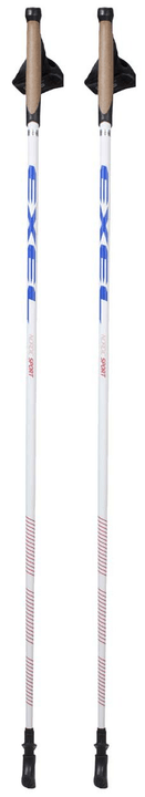 Nordic Sport Bâton de marche nordique Exel 491270710010 Longueur 100 Couleur blanc Photo no. 1