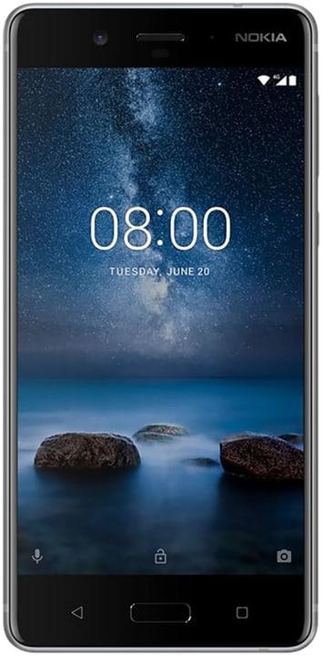8 Dual Sim 64GB Steel Smartphone Nokia 794623500000 N. figura 1