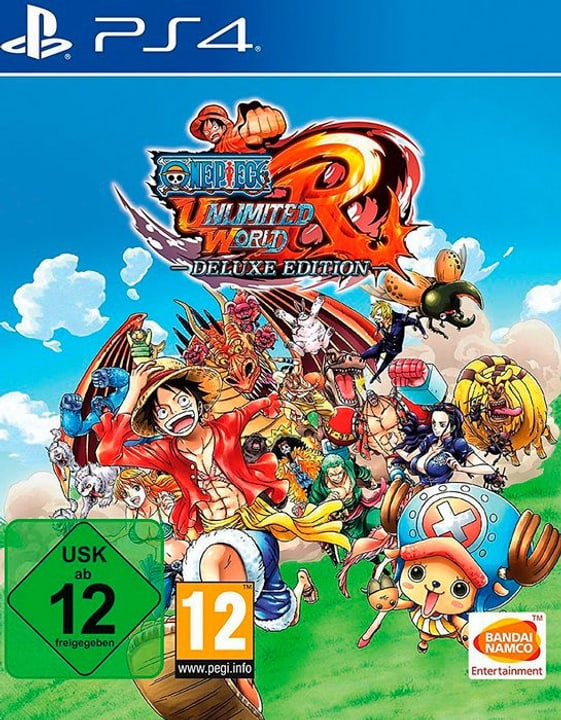 One Piece: Ultimate World Red - Deluxe Editon [PS4] (D) Fisico (Box) 785300130127 N. figura 1