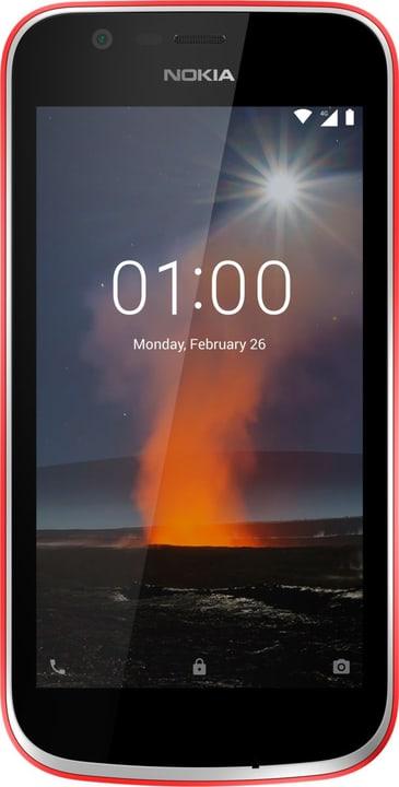 1  Dual SIM 8GB  Warm Red Smartphone Nokia 785300133243 Bild Nr. 1