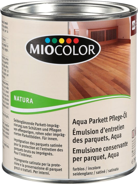 Aqua Parkett Pflege-Öl Farblos 750 ml Miocolor 661283700000 Farbe Farblos Inhalt 750.0 ml Bild Nr. 1