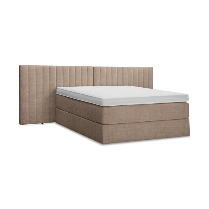 GRACE Lit Boxspring 364290900000 Dimensions L: 200.0 cm x P: 160.0 cm Couleur Brun Photo no. 1