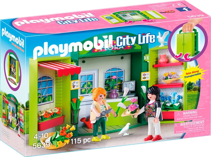 Playmobil City Life Coffre Fleuriste 5639 746072600000 Photo no. 1