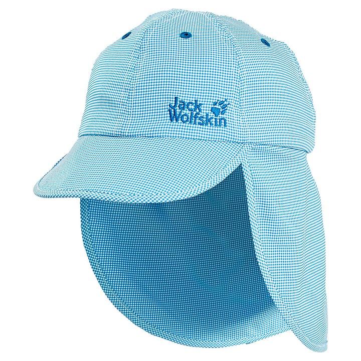 Desert Sun Hat Kids Casquette pour enfant Jack Wolfskin 462862753044 Couleur turquoise Taille 53 Photo no. 1