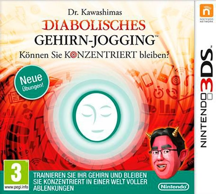 Brain Training infernale del Dr. Kawashi 785300122449 N. figura 1
