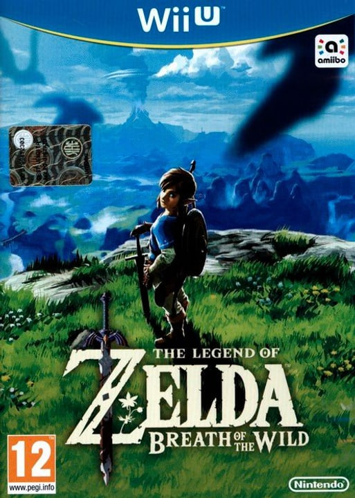 Wii U - The Legend of Zelda: Breath of the Wild Box 785300121767 Bild Nr. 1