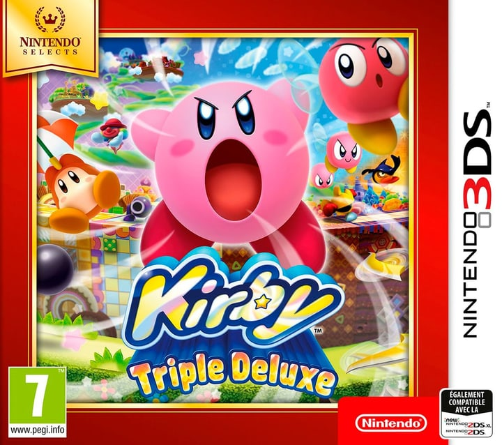3DS - Nintendo Selects : Kirby Triple Deluxe 785300129658 Photo no. 1