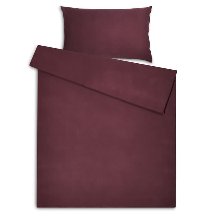 ZELDA Federa per cuscino jacquard 376078210630 Dimensioni L: 65.0 cm x L: 65.0 cm Colore Rosso scuro N. figura 1