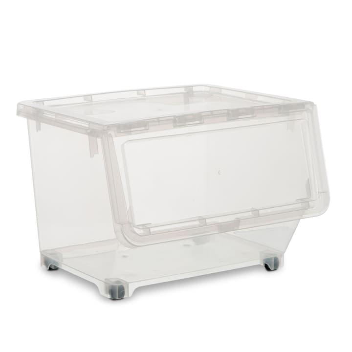 TABBY Boîte de plastic 386192400000 Dimensions L: 44.0 cm x P: 38.5 cm x H: 31.0 cm Couleur Transparent Photo no. 1