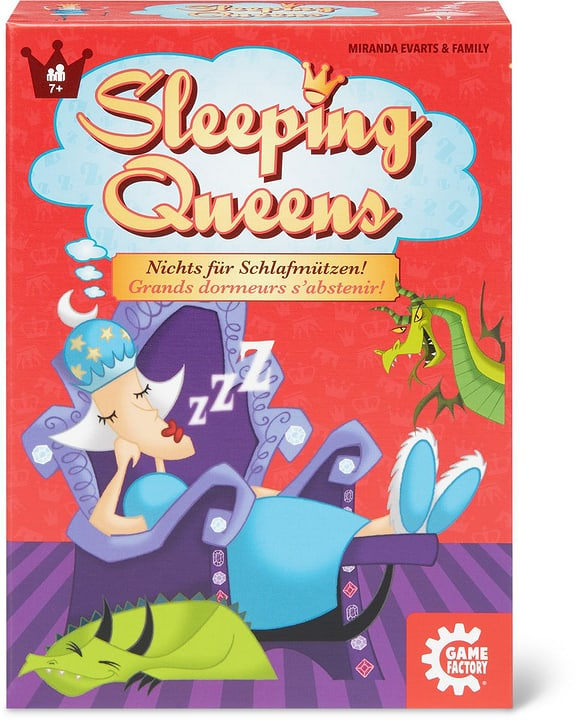 Gamefactory Sleeping Queens 748919100000 Photo no. 1
