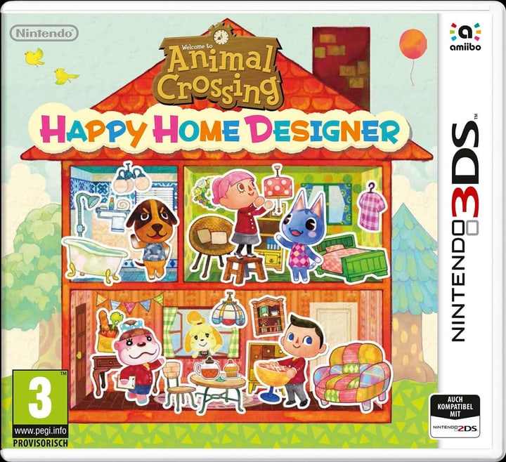 3DS - Animal Crossing Happy Home 785300120269 Photo no. 1