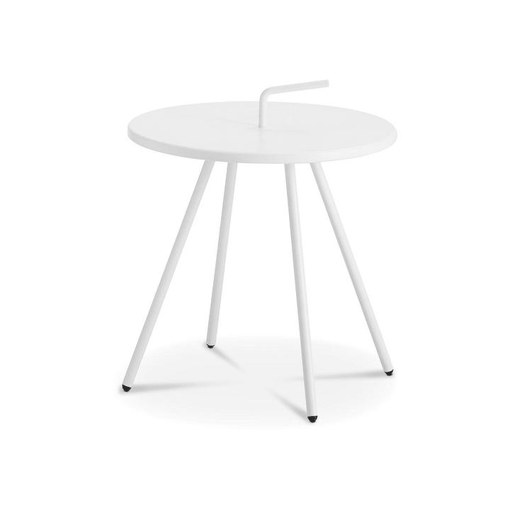LAVA Tavolino 368007851601 Colore Bianco Dimensioni A: 42.0 cm N. figura 1