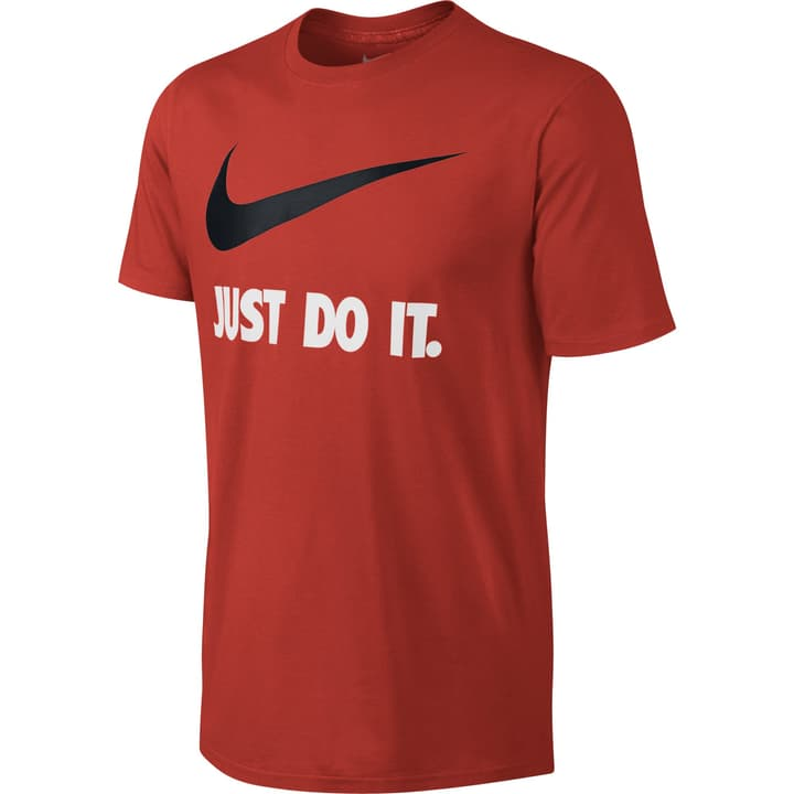New Just Do It Swoosh Herren-T-Shirt Nike 462389700330 Farbe rot Grösse S Bild-Nr. 1