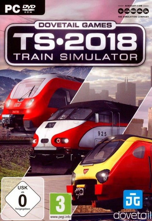 PC - Train Simulator TS 2018 D 785300133116 N. figura 1