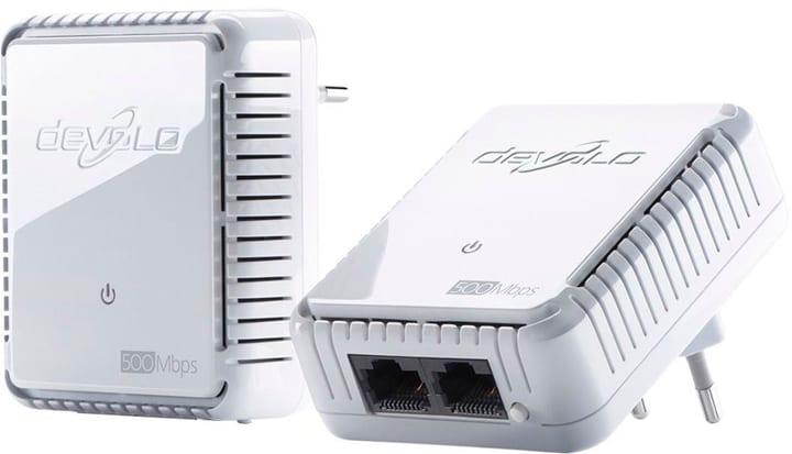 dLAN 500 duo Powerline Starter Kit Adaptateur réseau devolo 785300123441 Photo no. 1