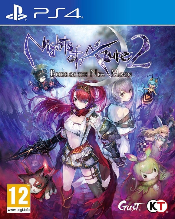 PS4 - Nights of Azure 2: Bride of The New Moon Physisch (Box) 785300129729 Bild Nr. 1