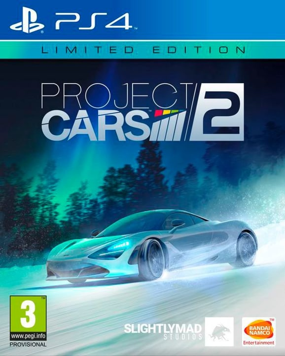 PS4 - Project CARS 2 - Limited Edition Physisch (Box) 785300122508 Bild Nr. 1