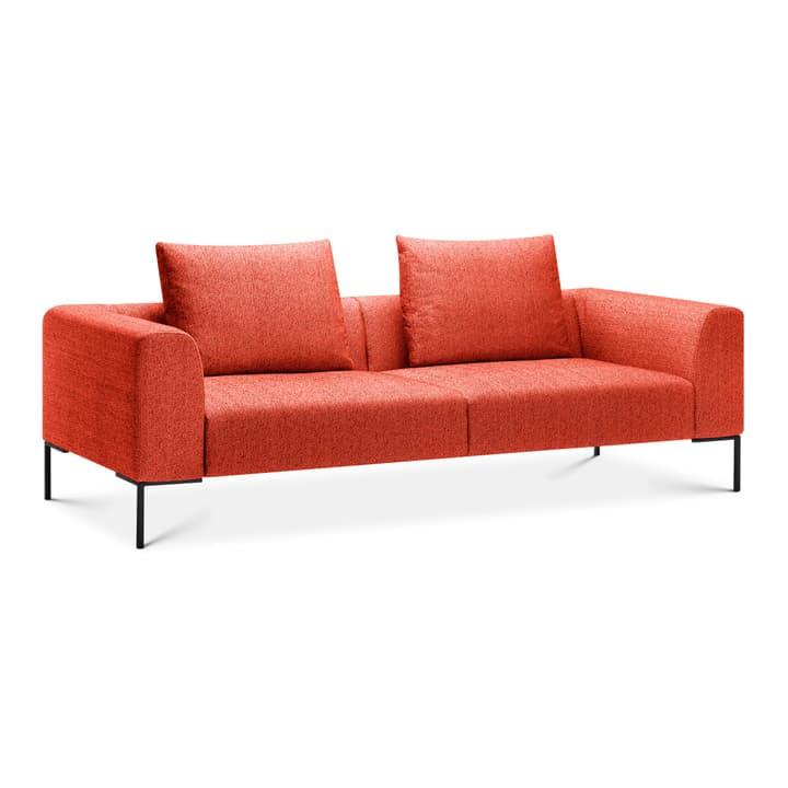CATHIE Divano da 2.5 posti 366152230330 Colore Rosso Dimensioni L: 243.0 cm x P: 97.0 cm x A: 94.0 cm N. figura 1