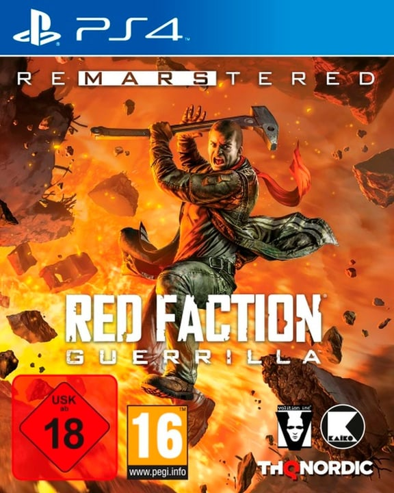 PS4 - Red Faction Guerrilla Re-Mars-tered (D) Box 785300135446 Photo no. 1