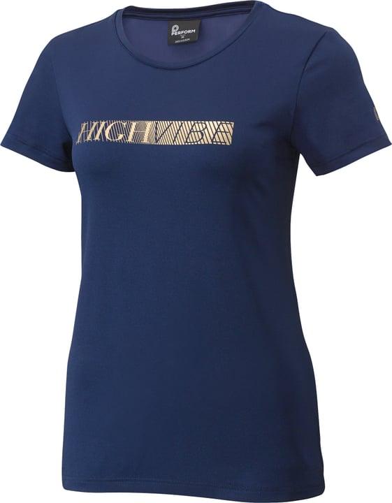 Fitness T-Shirt Damen-T-Shirt Perform 464991304222 Farbe dunkelblau Grösse 42 Bild-Nr. 1