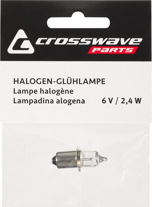 Ampoule halogène 6 V 2,4 A Crosswave 462903000000 Photo no. 1