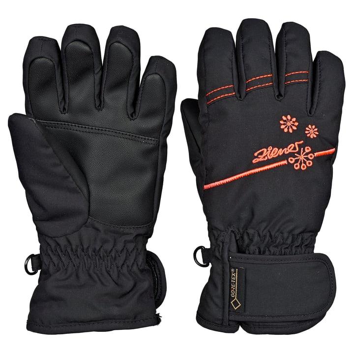 Mädchen-Fingerhandschuh Ziener 462834105520 Farbe schwarz Grösse 5.5 Bild-Nr. 1