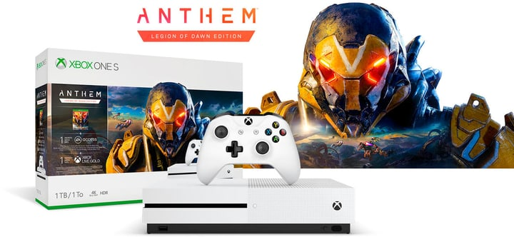 Xbox One S 1TB inkl. Anthem 78544210000019 Bild Nr. 1