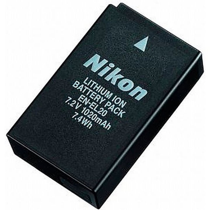 EN-EL20 Li-batterie Nikon 785300125560 Photo no. 1