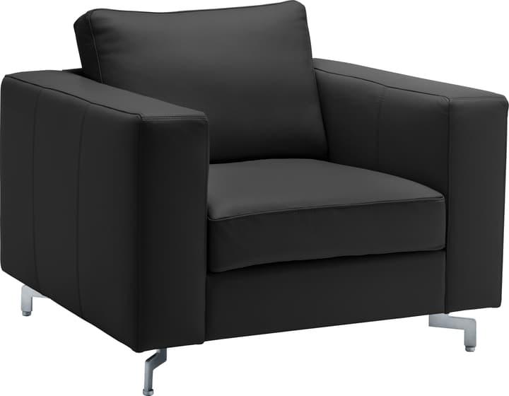 DIENER Sessel 402470800000 Grösse B: 97.0 cm x T: 92.0 cm x H: 80.0 cm Farbe Schwarz Bild Nr. 1