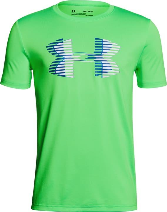 Combo Logo SS T T-shirt pour garçon Under Armour 464544512862 Couleur vert neon Taille 128 Photo no. 1