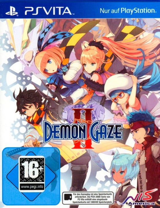 PSVita - Demon Gaze II D Box 785300130311 N. figura 1